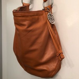 Coach Large Leather Hobo Bag